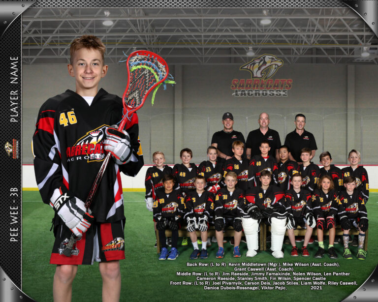 Lacrosse team photography